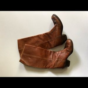 Vintage Leather (Frye?) Tall Boots